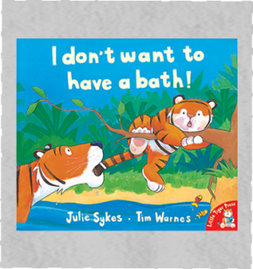 I don't want to have a bath!