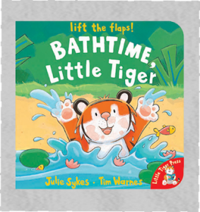 BathTime, Little Tiger