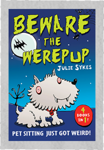 The Pet Sitter- Book Cover Beware The Werepup