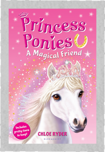 Princess Ponies - Book Cover A Magical Friend