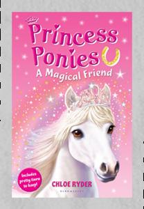 Princess Ponies - Book Cover A Magical Friend