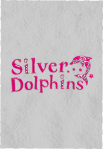 Silver Dolphins pink logo